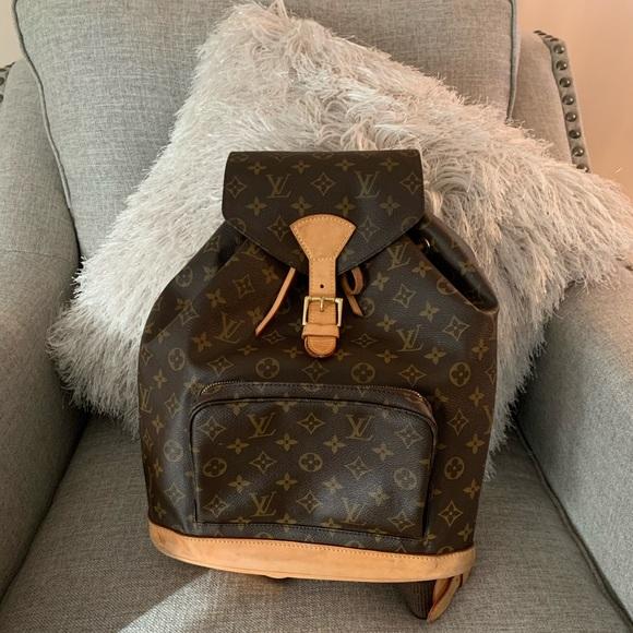 Louis Vuitton Handbags - Authentic Louis Vuitton Montsouris GM